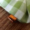 chouchou vert détail